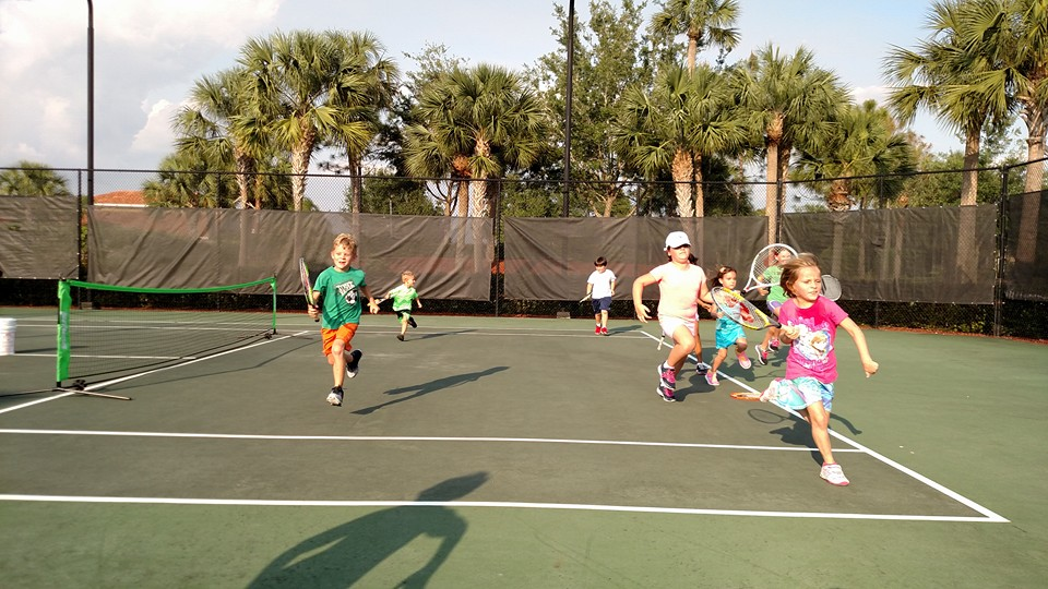 Traveling Tennis Pros - Ten and Under Tennis Clinic