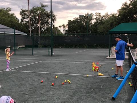 Ten and Under Tennis Lesson - Arbor Greene - Tampa, Florida