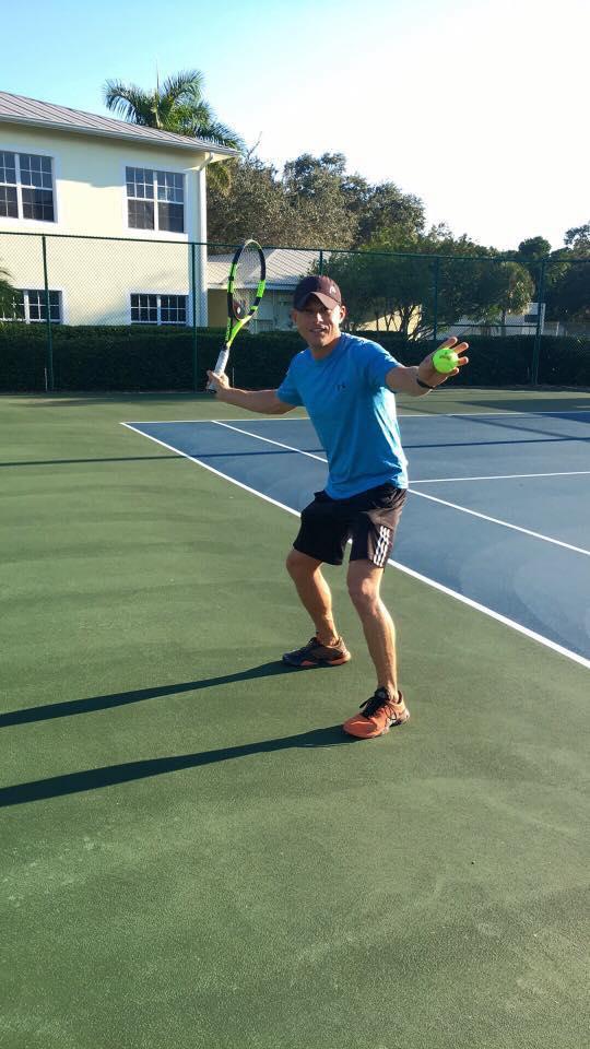Traveling Tennis Pros - Coach Whit