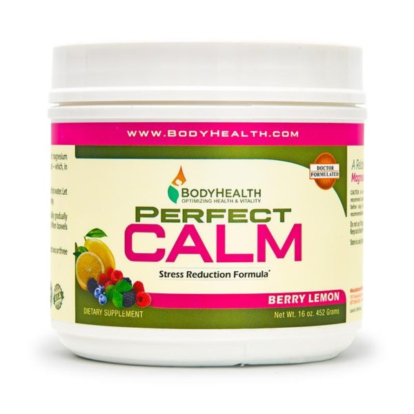 Perfect Calm Berry Lemon 16 oz. - Traveling Tennis Pros
