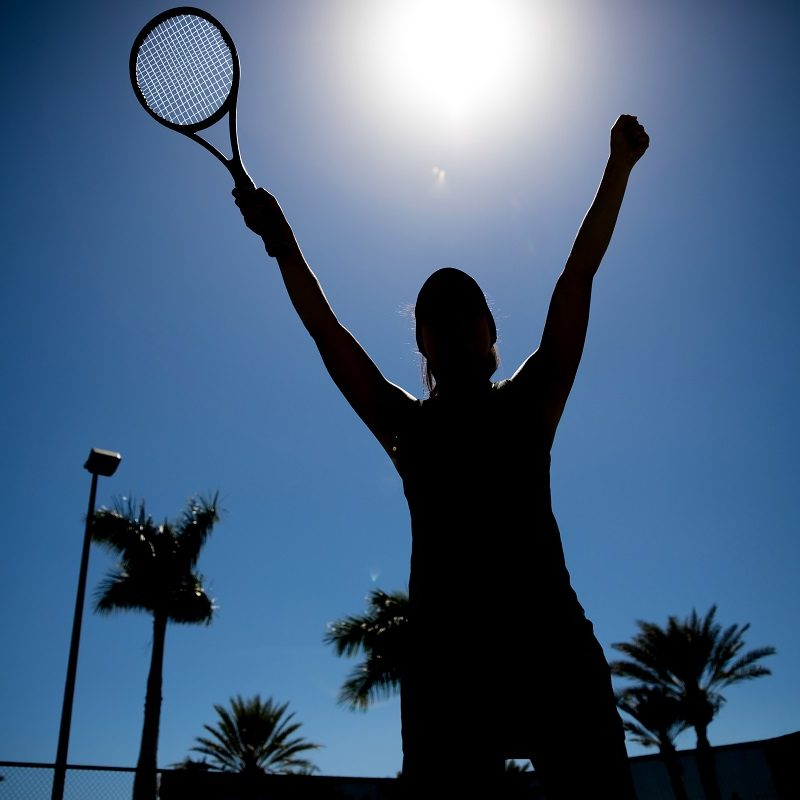 Photo Credit Getty Images - Traveling Tennis Pros