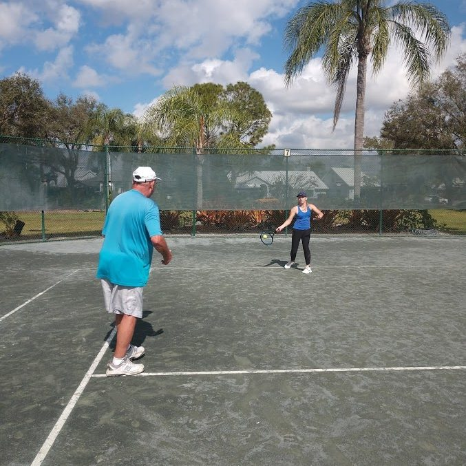 Private Lessons with Coach Gerry - Traveling Tennis Pros