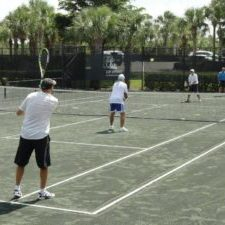 Traveling Tennis Pros - Mens Clinic