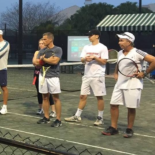 Traveling Tennis Pros - Men's Tennis Clinic