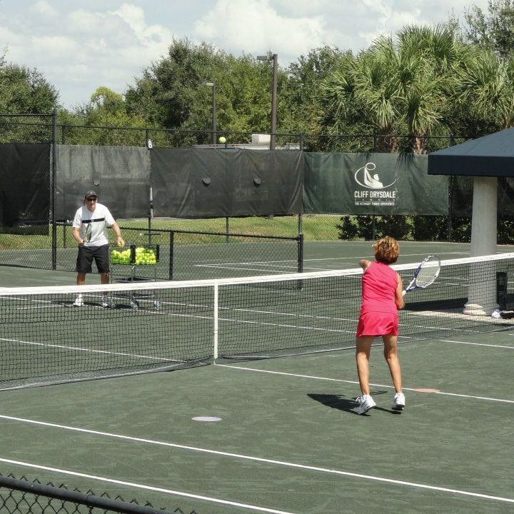 Tennis Clinic with Traveling Tennis Pros