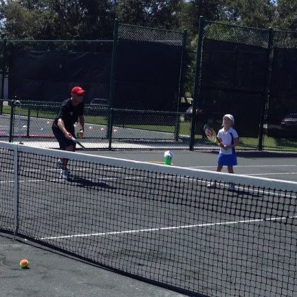 Ten and Under Tennis Lesson - Arbor Greeme, Tampa Florida